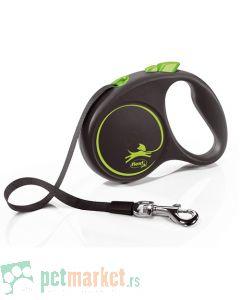 Flexie: Povodac Black Design Tape, Zeleni