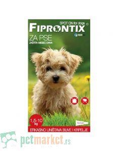 Fiprontix: Ampule protiv kožnih parazita za male rase Firprontix Spot On