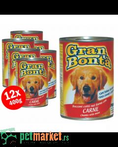 Gran Bonta: Komadići mesa za odrasle pse, govedina
