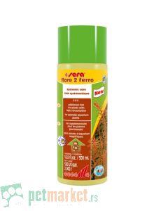 Sera: Dodatak gvožđa za razvoj biljaka Flore 2 Ferro