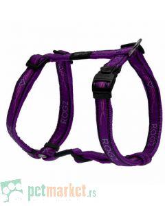 Rogz: Am za pse Purple Chrome