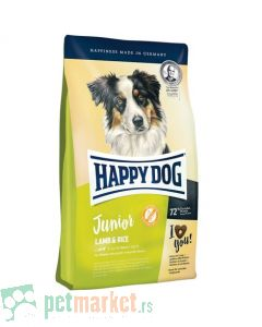 Happy Dog: Hrana za mlade pse Suprime Junior Lamb and Rice