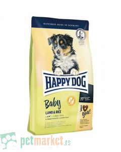 Happy Dog: Hrana za štence Suprime Baby Lamb and Rice