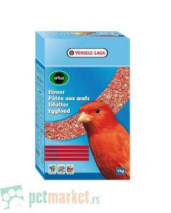 Orlux: Jajčana hrana za crvene kanarince Eggfood Red Canary, 1 kg