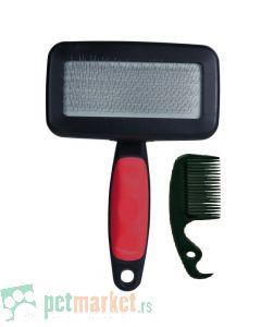 Trixie: Četka sa dodatkom za čišćenje Soft Silcker Brush