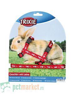 Trixie: Povodac i am  za zeca, crveni