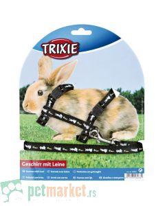 Trixie: Povodac i am  za zeca, crni
