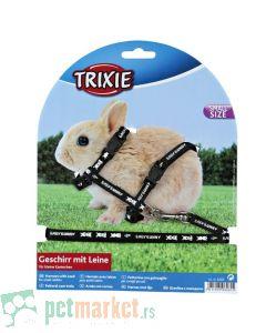 Trixie: Povodac i am za patuljastog zeca, crni