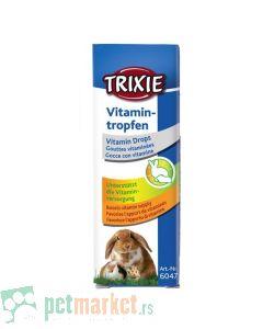Trixie: Vitaminske kapi za glodare, 15 ml