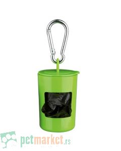 Trixie: Zelena torbica sa 2x20 toalet kesica