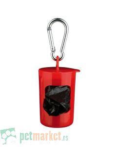 Trixie: Crvena torbica sa 2x20 toalet kesica