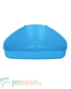 Trixie: Plastični toalet za glodare, plavi