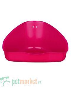 Trixie: Plastični toalet za glodare, roze