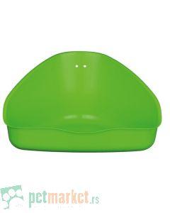 Trixie: Plastični toalet za glodare, zeleni