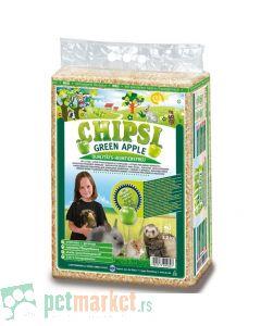 Chipsi: Podloga za glodare Green Apple