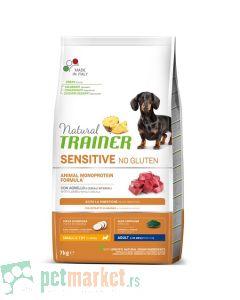 Trainer Sensitive: Hrana za odrasle pse malih rasa Adult Mini Jagnjetina, 7 kg