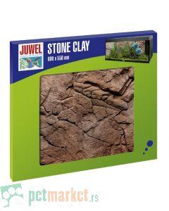Juwel: Dekorativna 3D pozadina za akvarijum Stone Clay