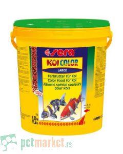 Sera: Hrana za koi šarane Koi Color Large, 20l