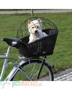Trixie: Pletena korpa za transport na biciklu