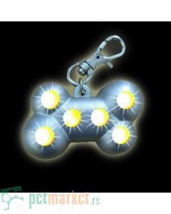 Nobby: Privezak za pse Blinking Bone
