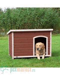 Trixie: Kestenjasto bela kućica za pse Natura