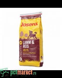 Josera: Jagnjetina & Pirinač, 15 kg (296 din/kg)