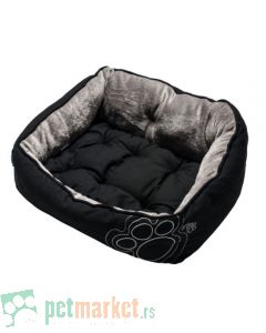 Rogz: Ležaljka za pse Luna, Black Paw