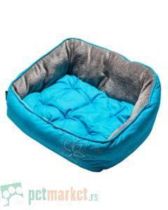 Rogz: Ležaljka za pse Luna, Blue Floral
