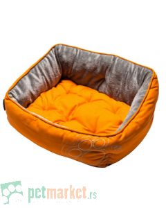 Rogz: Ležaljka za pse Luna, Orange Paw