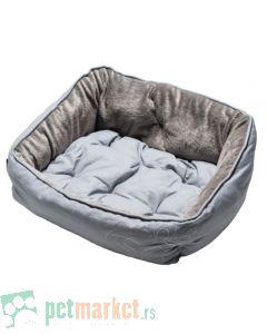 Rogz: Ležaljka za pse Luna, Ivory Bone