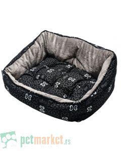 Rogz: Ležaljka za pse Trendy, Black Bones
