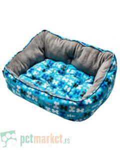 Rogz: Ležaljka za pse Trendy, Blue Bones