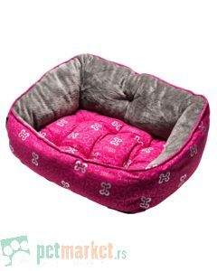 Rogz: Ležaljka za pse Trendy, Pink Bones