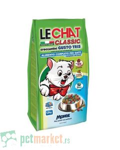 Monge: Hrana za mačke LeChat Three Flavour, 20 kg