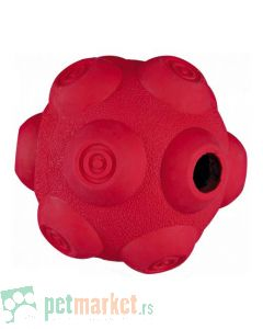 Trixie: Lopta za poslastice Snack Ball, crvena