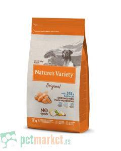Nature's Variety: Hrana za pse Mini Adult Original Grain Free, Losos