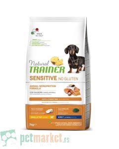 Trainer Sensitive: Hrana za odrasle pse malih rasa Adult Mini, Losos, 7 kg