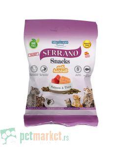 Mediterranean Natural: Poslastice za mačke Serrano Snacks, 50 gr