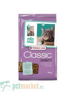 Oke Classic: Hrana za odrasle mačke Variety