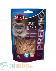 Trixie: Poslatica za mačke sa pačetinom Duccky Hearts, 50 g