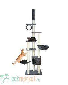 Trixie: Interaktivni nameštaj za mačke Madrid, siva