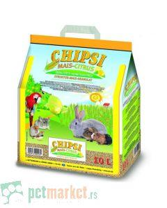 Chipsi: Podloga za glodare Mais Citrus, 10l (4.6 kg)