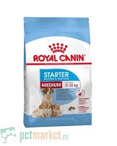 Royal Canin: Size Nutrition Medium Starter Mother & Babydog