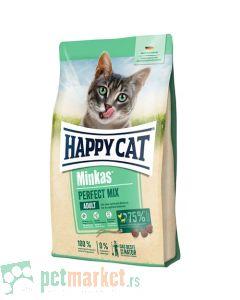 Happy Cat: Hrana za mačke Minkas Mix, 10 kg