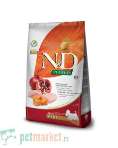 N&D Pumpkin: Hrana za pse Mini Adult, Bundeva & Piletina