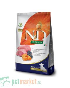 N&D Pumpkin: Hrana za štence Mini Puppy, Bundeva & Jagnjetina