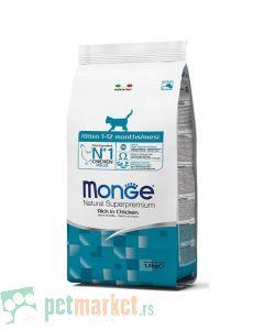 Monge: Hrana za mačiće Natural Kitten, Piletina