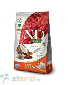 N&D Grain Free: Skin & Coat, Kinoa & Haringa