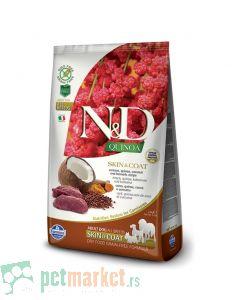 N&D Grain Free: Skin & Coat, Kinoa & Srnetina