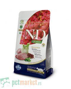 N&D Quinoa: Hrana za mačke sa problemima digestivnog trakta Digestion, Kinoa & Jagnjetina